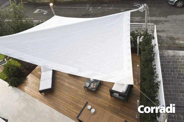 Vele ombreggianti tc tenda vendita di tende da sole tende da interno pergolati - Tende a vela per esterno ...