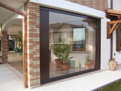 Tende Veranda Trasparenti : Tende per esterni trasparenti u pannelli termoisolanti